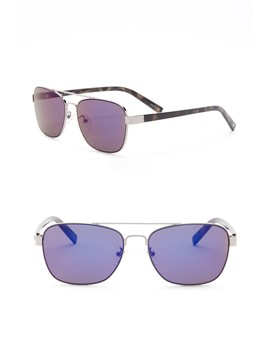 Modified Aviator 56mm Sunglasses by Joe's Jeans