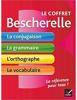 Le Coffret Bescherelle: Conjugaison / Grammaire / Orthographe / Vocabulaire   Conjugation / Grammar / Spelling / Vocabulary In French (French Edition) by Amazon