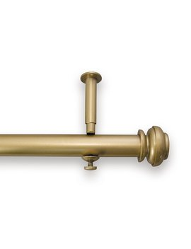 Source Global Bold Pole Adjustable Curtain Rod Set, 28 Inch To 48 Inch, Gold by Source Global