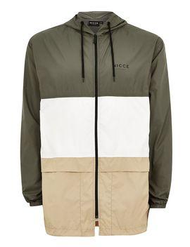 Nicce Khaki Panel Lightweight Jacket by Topman