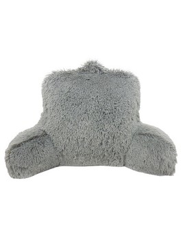 Warmly Shaggy Faux Fur Bed Rest Lounger   Elements by Elements International