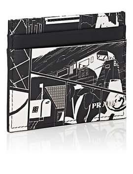 Leather Card Case by Prada