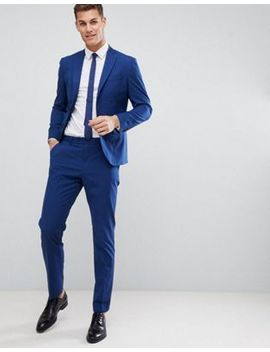 Mango Man Slim Fit Suit In Navy by Asos Brand