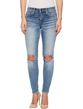Mid Rise Destructed Skinny In Delaytionship by Blank Nyc