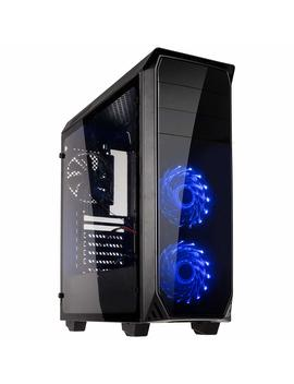 Kolink Luminosity Rgb Mid Tower Gaming Case   Black Usb 3.0 by Amazon