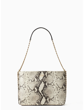 Emerson Snake Embossed Lorie by Kate Spade