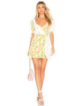 Savannah Wrap Mini Dress by For Love & Lemons