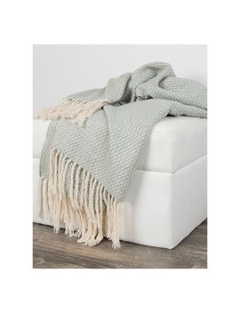 Cotton Cross Weave Throw   Rizzy Home by Rizzy Home