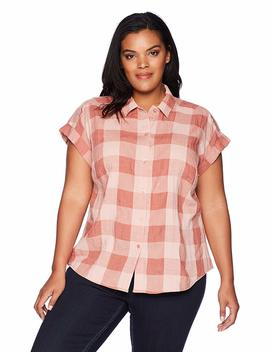 Lucky Brand Women's Plus Size Plaid Top by Lucky+Brand