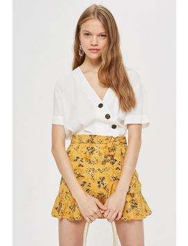 Tall Ruffle Tie Skirt by Topshop