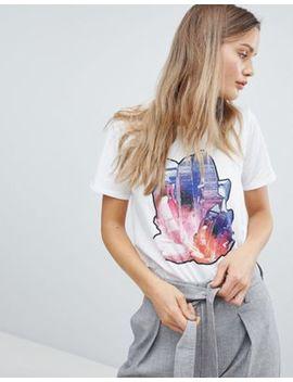 In Wear Preeda Crystal Print T Shirt by Top