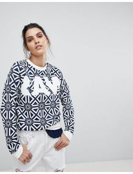 G Star All Over Tile Print Sweatshirt by G Star