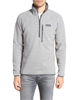 Better Sweater Performance Slim Fit Quarter Zip Jacket by Patagonia