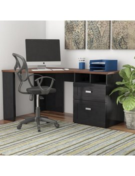 Latitude Run Fulbright Reversible Corner Desk & Reviews by Latitude Run