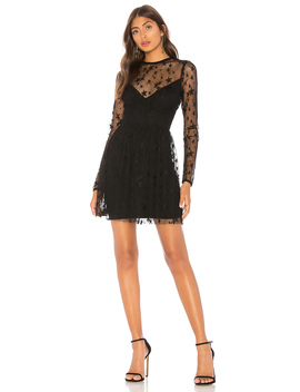 Abel Sheer Skater Dress by By The Way.