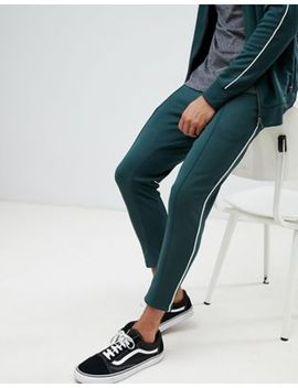 Only & Sons Tapered Track Pant With Side Stripe by Only & Sons
