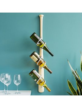 Baseball Bat Wine Rack by Kevin Phillips And Tia Van Winkler
