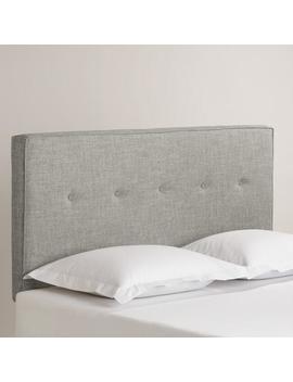 Linen Donnon Upholstered Headboard by World Market