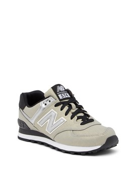 574 Seasonal Shimmer Suede Sneaker   Wide Width Available by New Balance