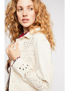 Eyelet Cutout Jacket by Free People