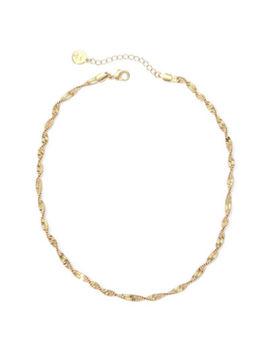 Liz Claiborne® Gold Tone Textured Twist Necklace by Liz Claiborne
