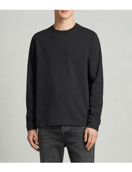 Monta Long Sleeve Crew T Shirt by Allsaints