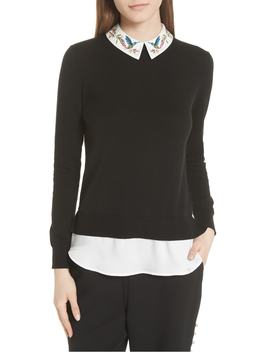 Highgrove Layered Look Sweater by Ted Baker London