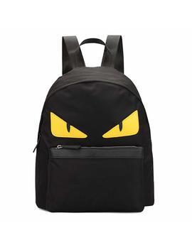 Homekit Monster Nylon Backpack Women Shoulder Backpack Fashion Genuine Travel Bag by Homekit