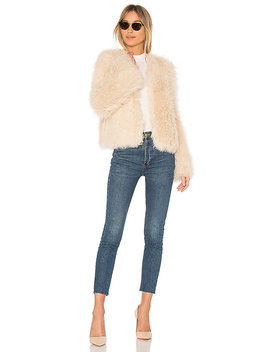Harper Lamb Fur Coat by Ulla Johnson