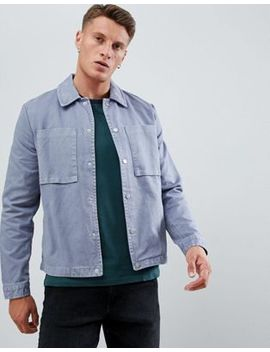 New Look Worker Jacket In Blue by New Look