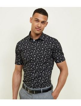 Black Paisley Short Sleeve Shirt by New Look