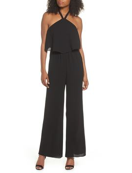 Meet Me At Vbw Halter Jumpsuit by Ali & Jay
