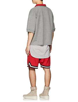 Cotton Blend French Terry Polo Sweatshirt by Fear Of God