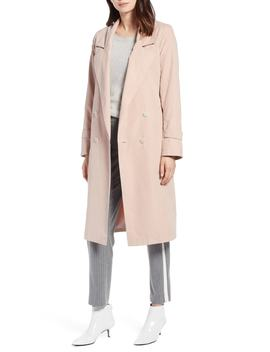 Double Breasted Trench Coat by Halogen®