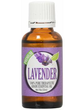 Lavender 100 Percents Pure, Best Therapeutic Grade Essential Oil   30m L (1oz) by Healing Solutions