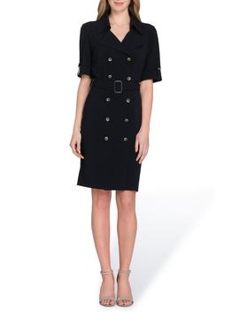 Collared Sheath Dress by Tahari