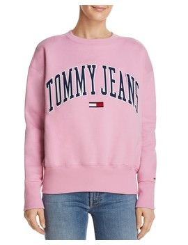 Collegiate Embroidered Logo Sweatshirt by Tommy Jeans