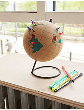 Gift Republic Colour In Cork Globe by American Eagle Outfitters