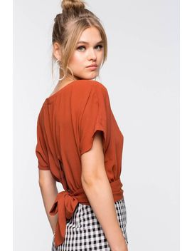 Belle Tie Back Blouse by A'gaci