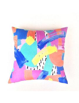 College Dorm Decor. Pillow Cushion. Colourful Pillow. Cotton Throw Pillow. Handmade Pillow. Sofa Pillow. Apartment Decor. Dorm Decorations. by Etsy