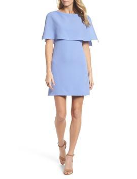 Split Sleeve Sheath Dress by Adrianna Papell