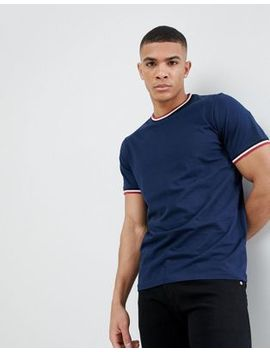 Another Influence Plain Ringer T Shirt by T Shirt