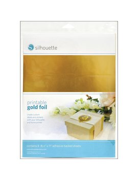 Silhouette Printable Gold Foil by Silhouette
