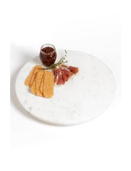 Marble & Acacia Wood Lazy Susan by Nordstrom At Home