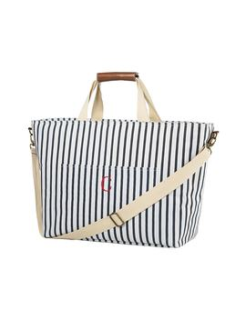 Monogram Stripe Cooler Tote by Cathy's Concepts