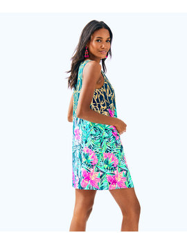 Jackie Silk Shift Dress by Lilly Pulitzer