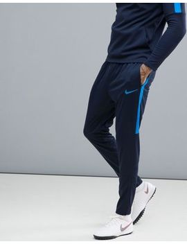 Nike Football Training Academy Dry Joggers In Blue 839363 458 by Nike