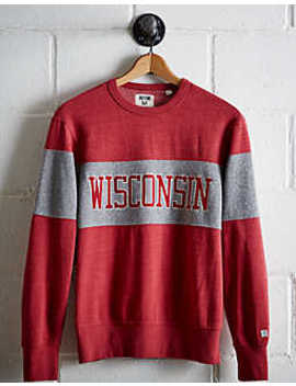 Tailgate Men's Wisconsin Panel Sweatshirt by American Eagle Outfitters