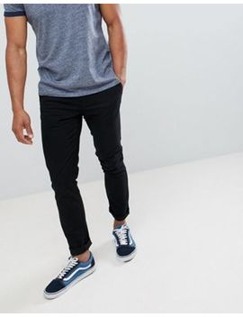 Burton Menswear Slim Fit Chino In Black by Asos