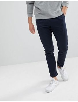 Weekday   Wood   Chino In Marineblauw by Asos
